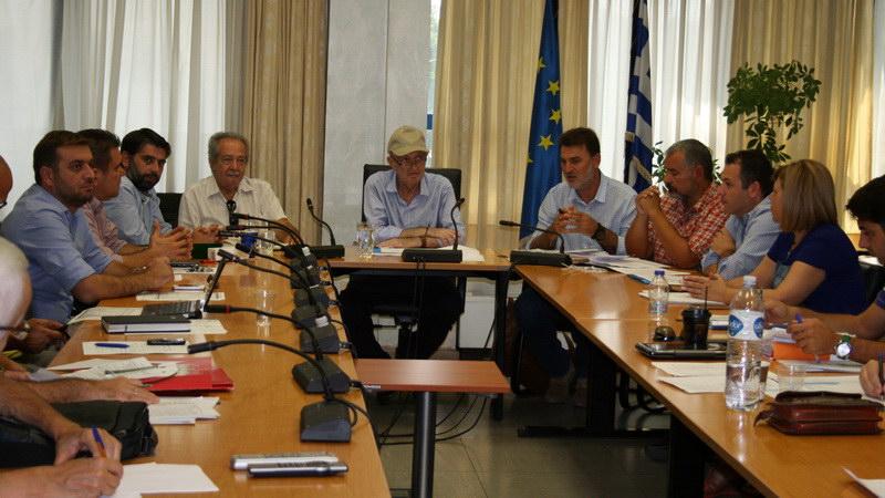 Σύσκεψη στην Περιφέρεια ΑΜ-Θ για την Υγεία