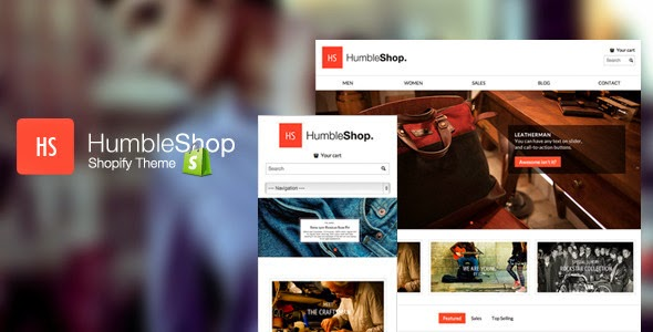 bag shop template