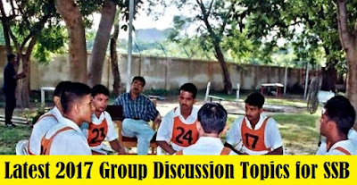 Latest 2017 Group Discussion Topics for SSB