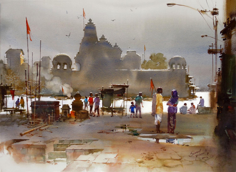 Prafull Sawant   1979 Born Indian Artist