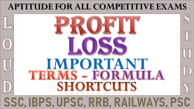 Profit and Loss Formulas