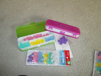 dollar store crafts bottons round stars organize pencil case box projects plastic