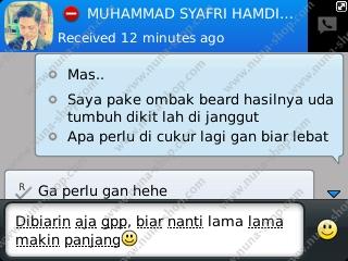 Testimoni Pemakaian Ombak Beard Oil