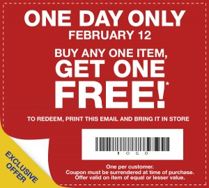 graphic regarding Gap Outlet Printable Coupon titled Hole Outlet: Purchase 1 Merchandise, Acquire 1 Totally free Coupon! Tomorrow Simply just