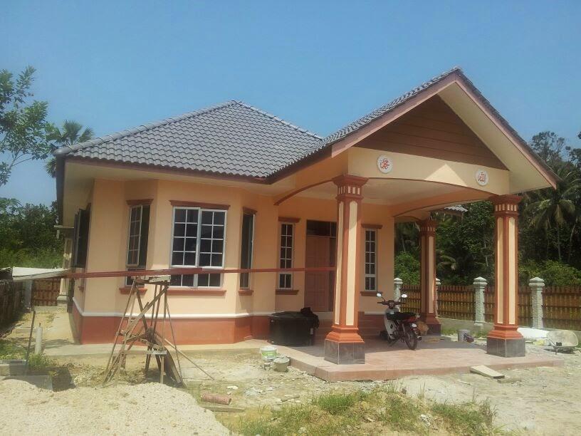 Bina Atas Tanah Sendiri Banglo Cantik Setingkat Rm138k