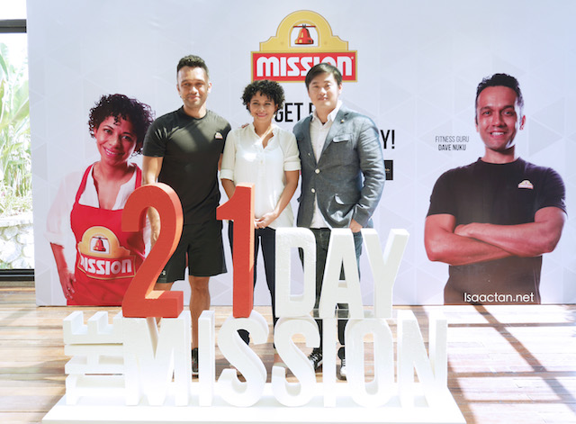 And its launched, Mission Foods #The21DayMission Health and Fitness Program