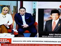 AM Fatwa: Anggota DPD Asal Bali Arya Wedakarna Diberhentikan Sementara