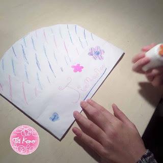 Tía Keko manualidades niños sellos