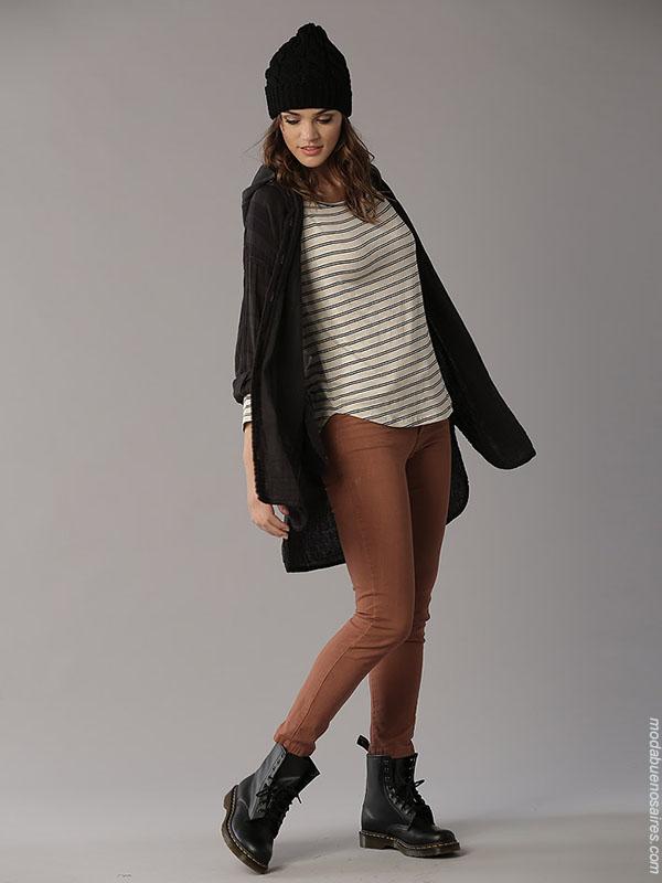 Moda otoño invierno 2018 ropa de mujer moda urbana. Moda 2018.