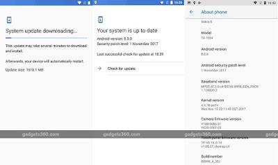 أندرويد 8.0 أوريو يصل رسميا إلى هاتف نوكيا 8