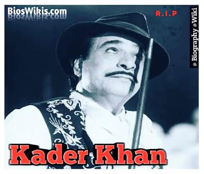 Kader khan image by bioswikis
