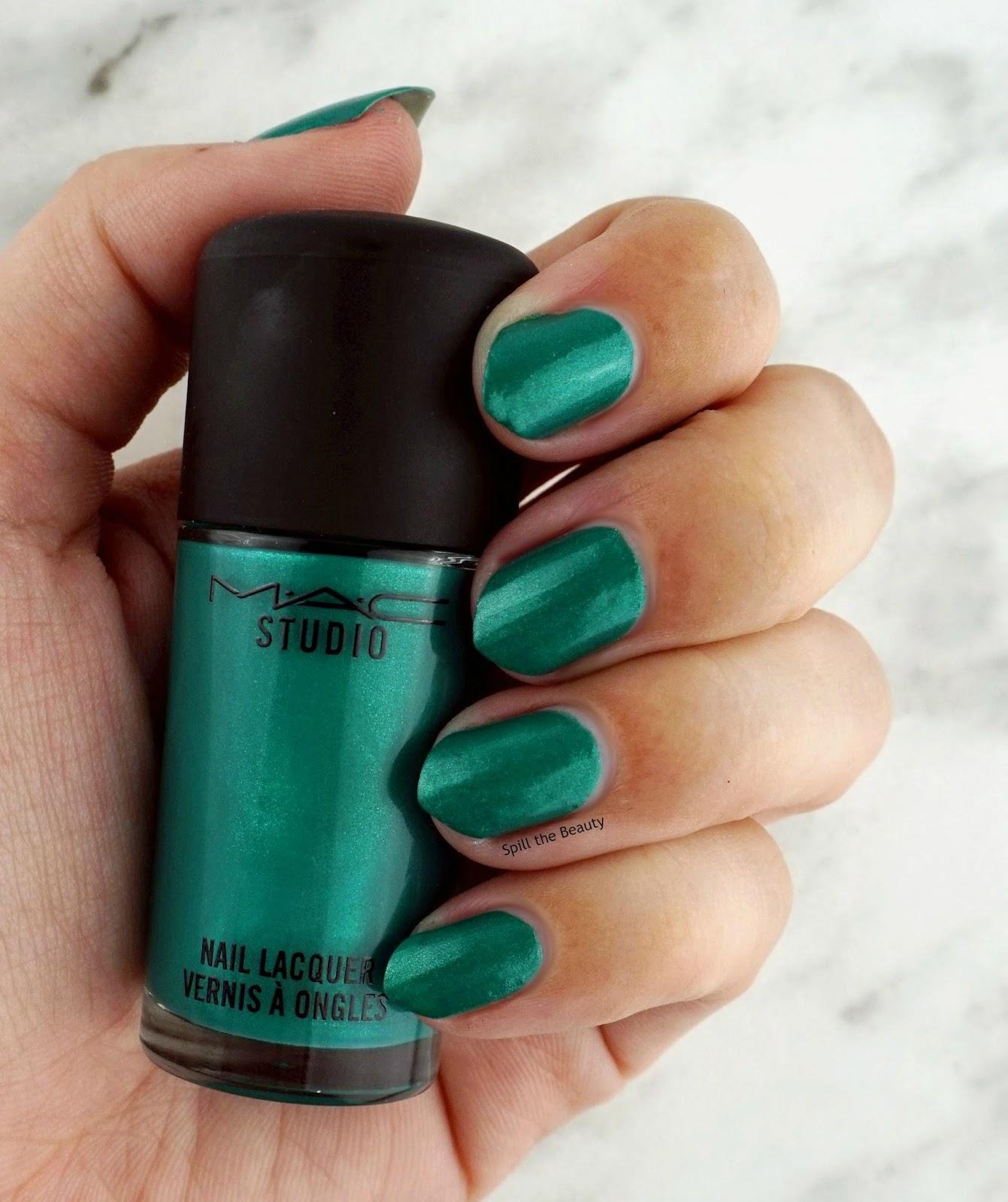 Mac Fashion Pack Collection nail polish style matters swatch