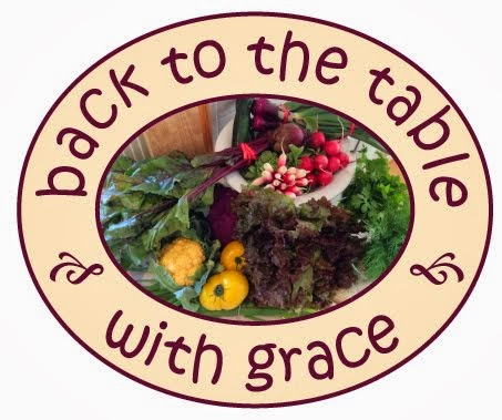 Back to the table with grace.