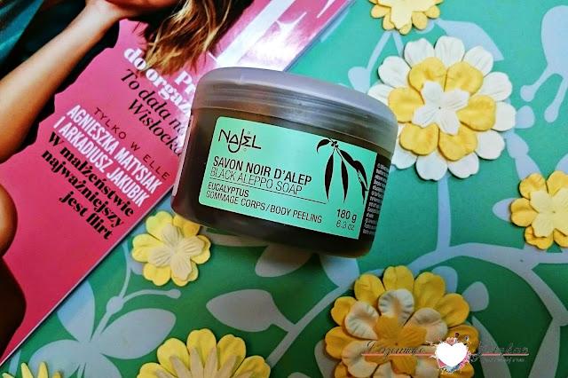 Najel, czarne mydło eukaliptusowe - Savon Noir D'allep - Jak stosować? Jakie ma właściwości? | Opakowanie
