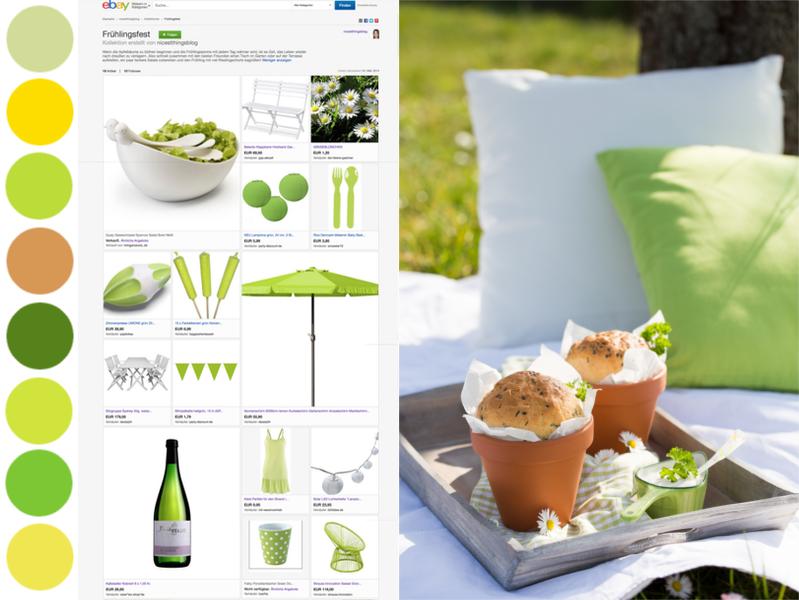 eBay Kollektion erstellen Frühlingsfest