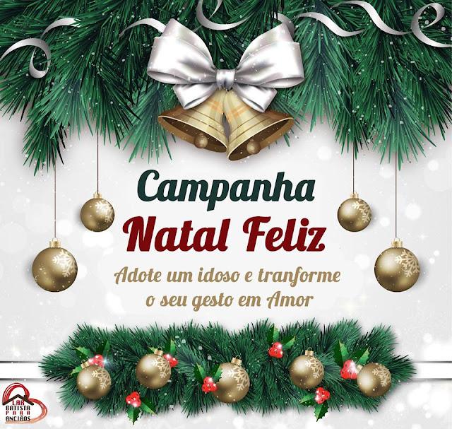 Lar Batista Para Anciãos promove ação Natal Feliz