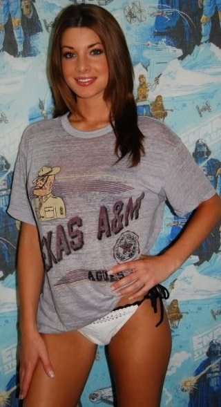 Beauty Babes 15 Texas AM Beats 1 Alabama 2924  Sexy Aggie Fans Cheer