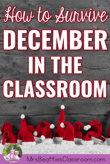 The Christmas season in an elementary classroom is a chaotic space full of energy, emotion, and definitely teacher exhaustion! Gather a few tips, art activities, language arts and math resources, and a freebie to survive December in the classroom right here!