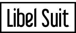 Libel Suit tipogragias gratis