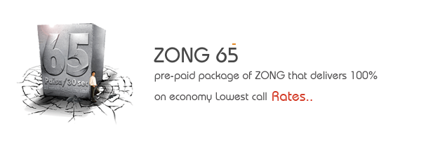 ZONG 65 Package