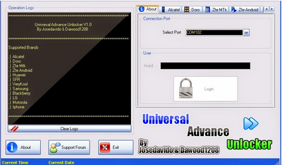 Universal Advance Unlocker Software(Tool) 2018 Free Download For Windows