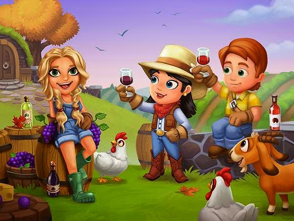 A atriz Kate Hudson foi transformada em personagem para o jogo FarmVille 2: Country Scape