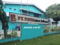Info Lowongan Kerja SMK Quality Control di PT Fonda Nusa Aditama