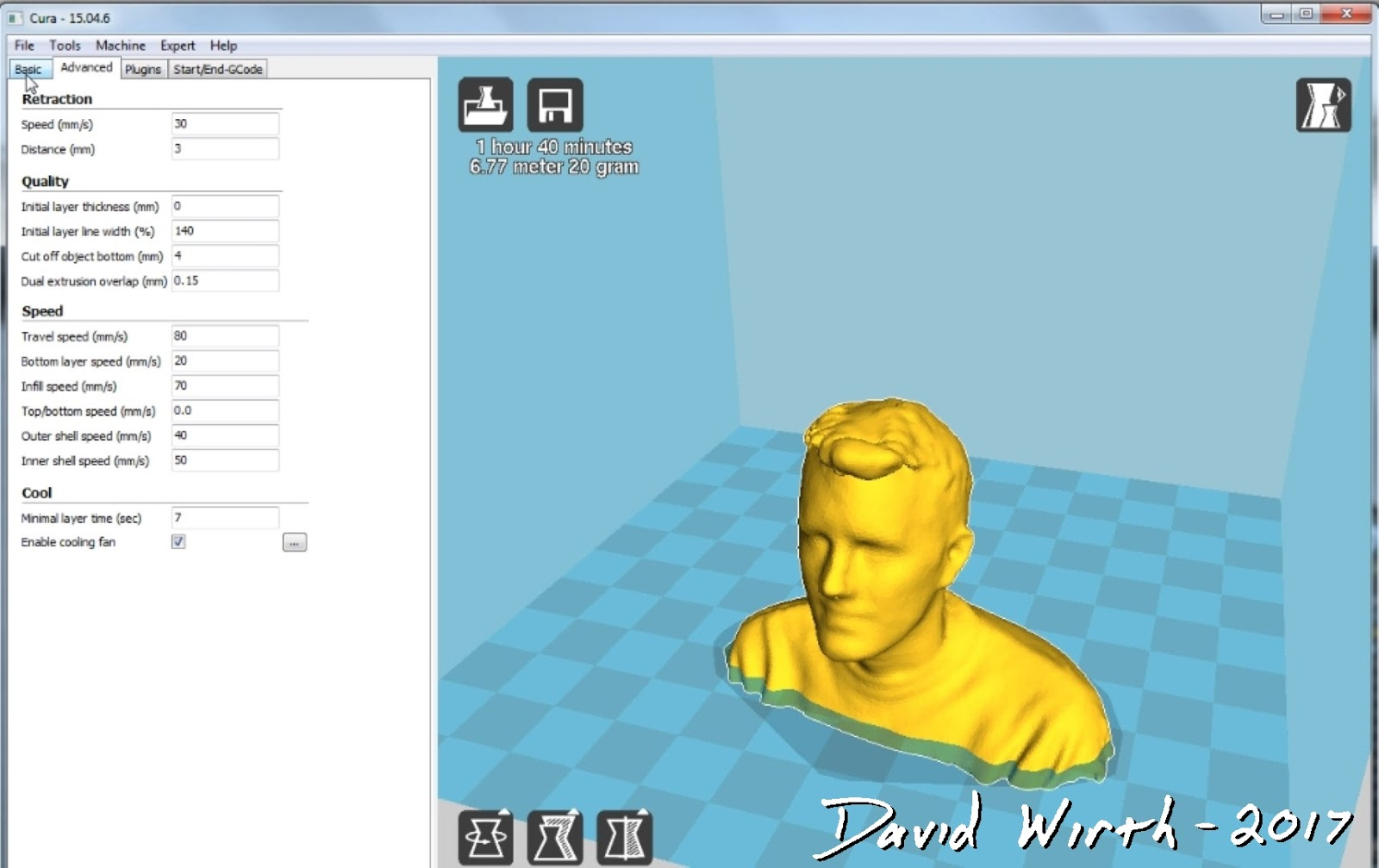 Scan and 3D Print Yourself - XBOX Kinect - 3D Printer
