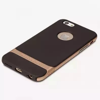 "TPU+PC чехол Rock Royce Series для Apple iPhone 6 plus (5.5"") золотой"