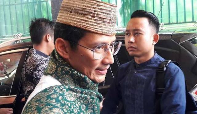 Ditanya Soal Nama-nama Anggota TGUPP, Sandiaga Bingung Dan Beri Jawaban Ini..