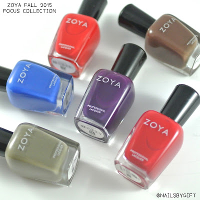 Zoya Fall 2015 | Focus Collection