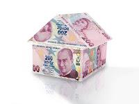200 TL kağıt paralardan yapılmış bir ev