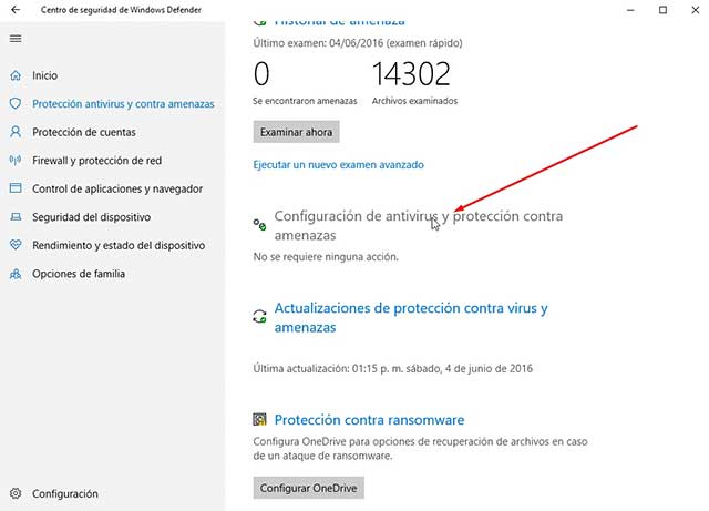 Cómo desactivar Windows Defender en Windows 10