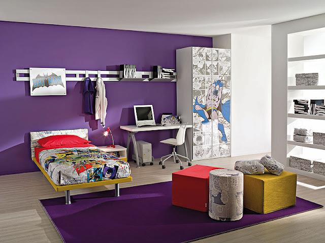Batman Themed Bedroom Interior Style Ideas Batman Themed Bedroom Interior Style Ideas Batman 2BThemed 2BBedroom 2BInterior 2BStyle 2BIdeas 2B2