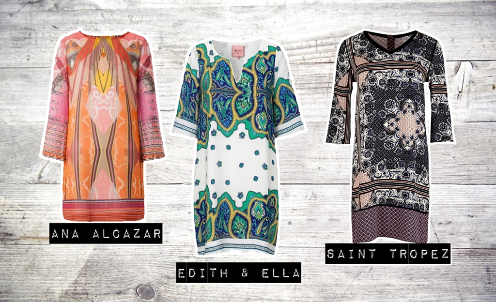 TREND-REPORT: Paisley-Print Kleider