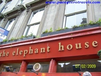The elephant house Harry Potter