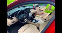 Mercedes C200 2015 đã qua sử dụng nội thất màu Kem