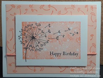 Dandelion Wishes, Bokeh Dots, In-Color, Grapefruit Grove, Stampin Up, Stamping Up, SU