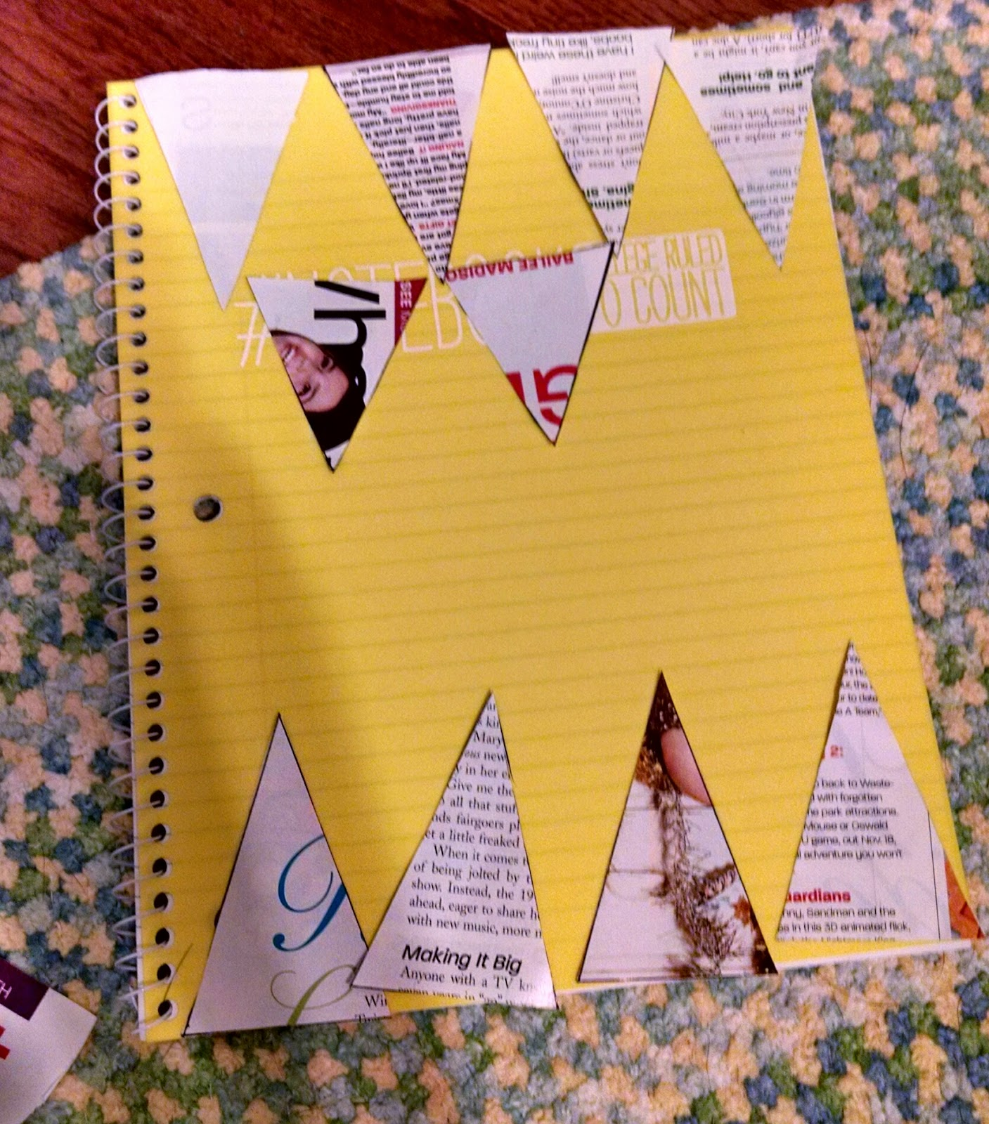 Glue And You: DIY School Supplies #4: Tumblr Inspired