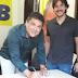 Ao lado de Pedro, ex-aliado de Ricardo Coutinho, Renato Martins assina ficha de filiação no PSDB