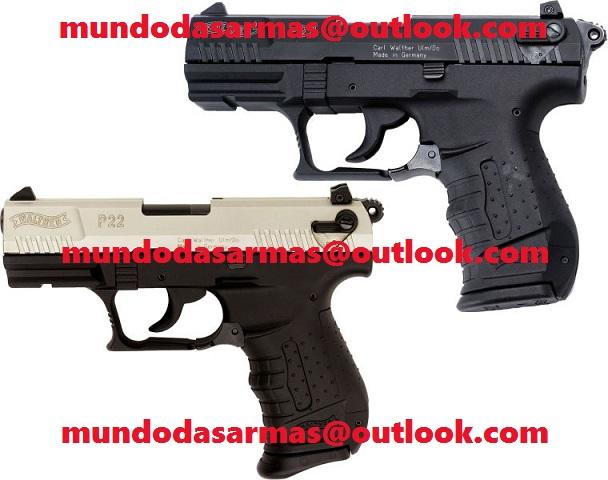 Pistola Walther P22 calibre 22LR