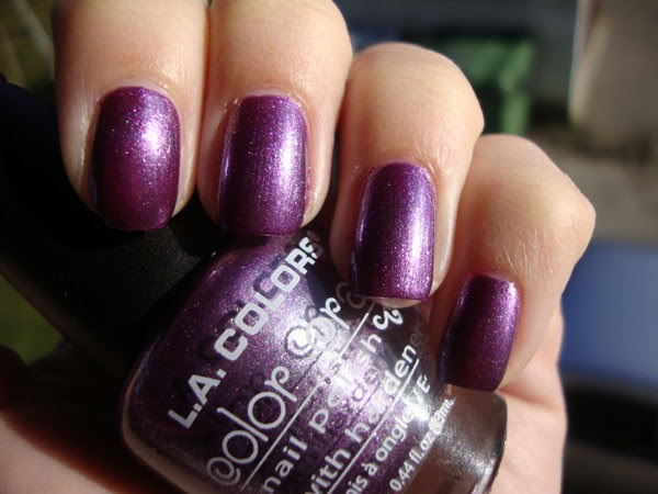 L.A. COLORS - GRAPEVINE, ESSENCE - TIME FOR ROMANCE & KONAD