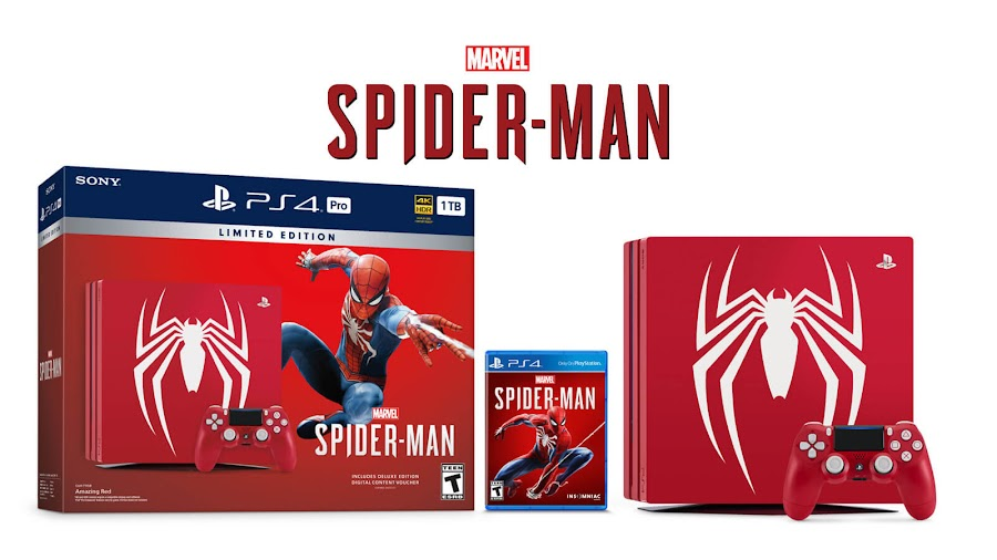 spider man ps4 pro bundle limited edition