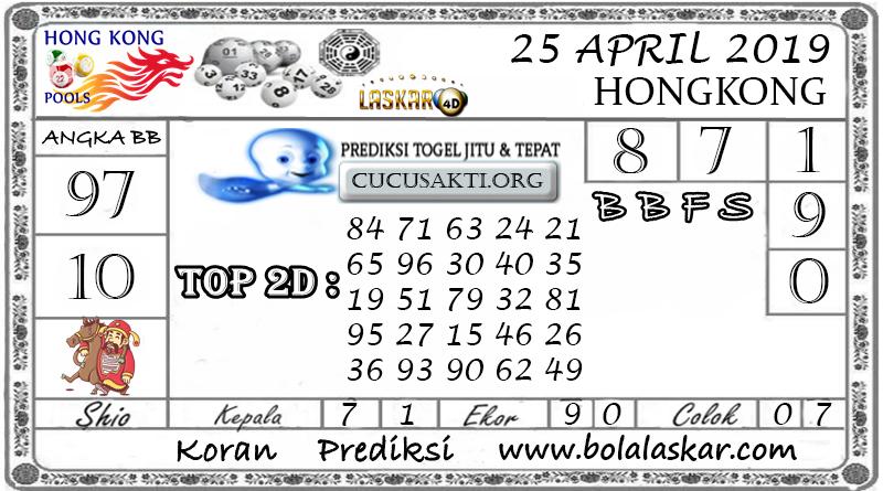 Prediksi Togel HONGKONG LASKAR4D 25 APRIL 2019