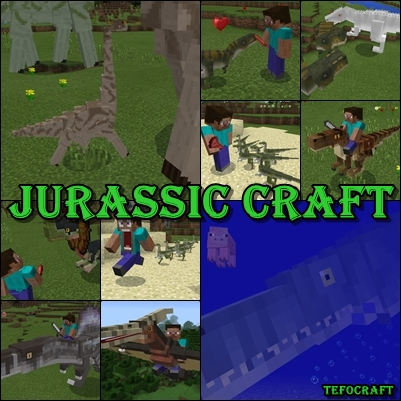 Jurassic Craft [ADD-ON]