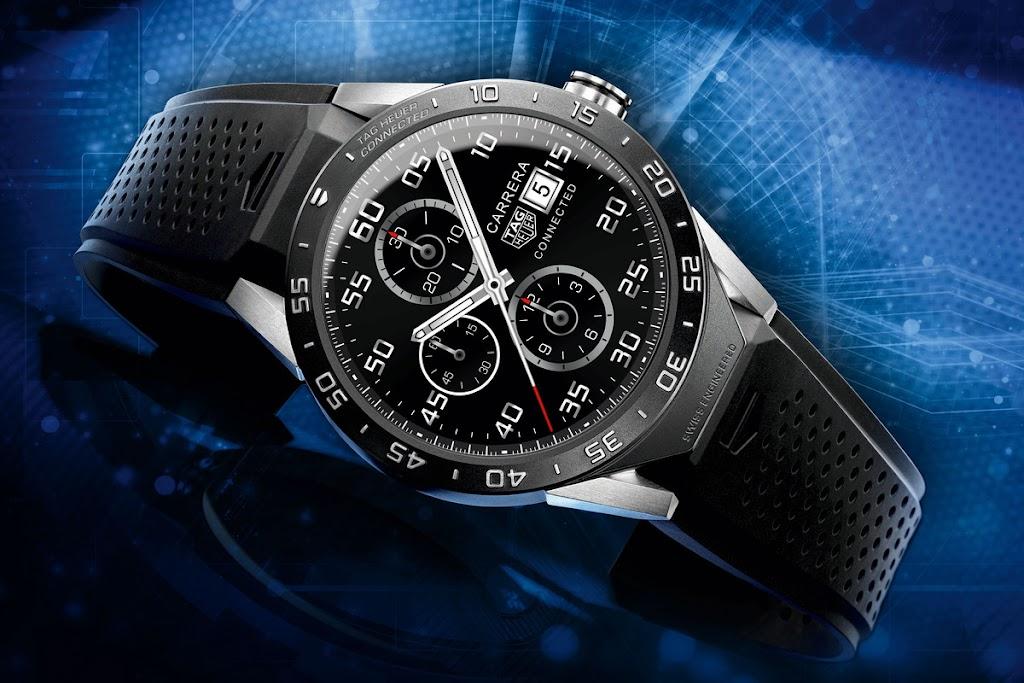 跟Apple Watch競爭?精品錶TAG Heuer推出Andriod「奢華」智慧錶