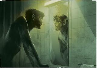 immagine del suicida noi stessi allo specchio