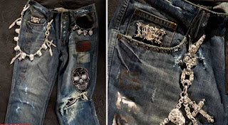 Dussault Apparel Thrashed Denim ($ 250,000)