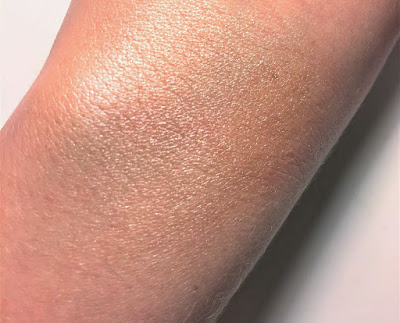 e.l.f. Shimmering Facial Whip Lilac Petal swatch