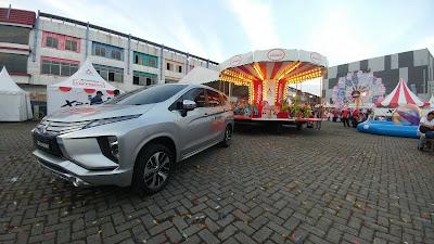 Mitsubishi Xpander menjadi satu-satunya MPV yang membawa berton-ton kebahagiaan dengan menarik Carousel